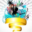 Royalty-Free Stock Vector Image: Beach Party