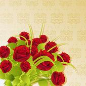 μάτσο τριαντάφυλλο — Διανυσματικό Αρχείο