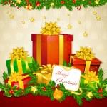 Christmas Gift — Stock Vector #7239075