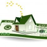 House on Dollar — Stock Vector #7312685