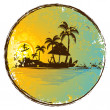 Exotic Island - Stock Vector