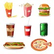 Fast Food - Stock Vector
