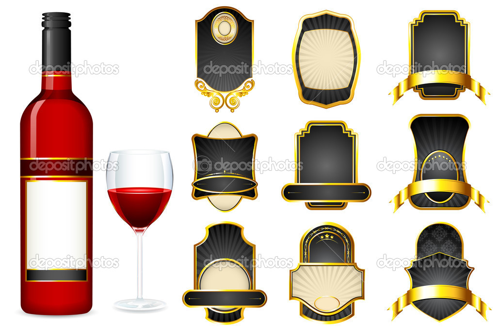 Wine Bottle Label Template – Wine Bottle Labels Template
