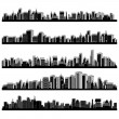 City Scape — Vector de stock