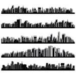 Stadt scape — Stockvektor