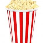 Popcorn — Stock Vector #7947746