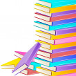 Stack of Books — Stock Vector #7948027
