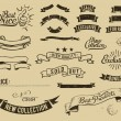 Vintage sale icons set — Stockvektor