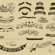 Stockvector : Vintage sale icons set