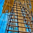 Rigging of USS Constitution - Stock Photo
