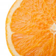 Closeup of fresh orange — Stock Photo