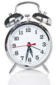 Retro classic alarm clock — Stock Photo