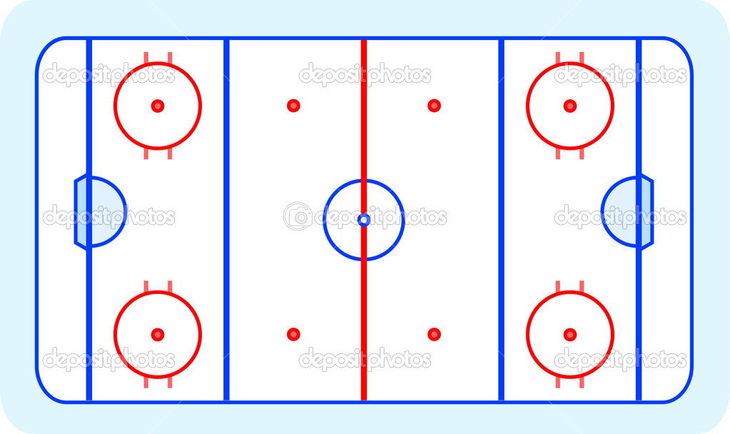 Ice Rink Diagram Hockey 101 Manchester Storm