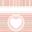 Royalty-Free Stock Imagen vectorial: Valentine love heart romantic birthday vector background