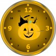 Time to celebrate party isolated clock vector — Stock Vector
