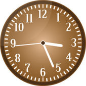 Vintage clock grunge isolated on white background vector — Stock Vector