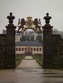 The entrance to the palace — Fotografia Stock