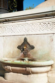The German Fountain — Stock Photo