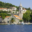 Panoramic of Cavtat, Croatia. — Stock Photo
