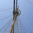 Mast of sailboat. - Stock Photo