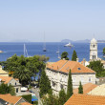 Panoramic of Cavtat, Croatia. — Stock Photo #6767141