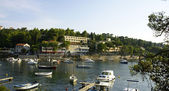 Panoramic of Cavtat's coast, Croatia. — Stock Photo
