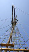 Mast of sailboat. — Stock Photo