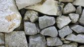 Wall of stones — Stock Photo