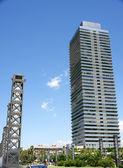 Racacielos in the Olympian Villa. — Stock Photo