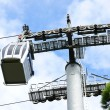Cabin cable car — Stock Photo