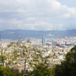 Panoramic of Barcelona. - Foto Stock