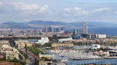 Panoramic of the port. — Stock Photo