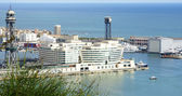 Panoramic of the port. — Stock Photo