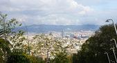 Panoramic of Barcelona. — Stock Photo