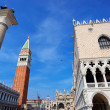 St. Mark's Square fragment — Stockfoto
