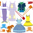 Paper doll — Stock Photo
