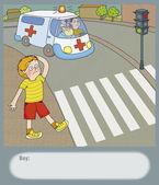 Road hazard — Stock Photo