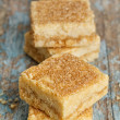 Lemon Shortbread Squares - Stock Photo