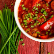 Chorizo stew - Stock Photo