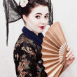 Stock Photo: Geisha
