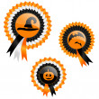 Royalty-Free Stock Vector Image: Halloween prizes