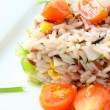 Rice salad - Stock Photo