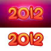 Ano novo 2012. — Foto Stock