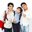 Happy schoolboys - Stockfoto