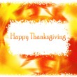 Thanksgiving holiday greeting card — Stock fotografie
