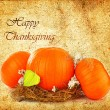 Thanksgiving holiday greeting card — Stock Photo #6882167