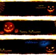 Royalty-Free Stock Photo: Halloween banners