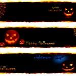 Halloween banners — Stock Photo