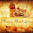 Thanksgiving holiday background — Stock Photo