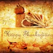 Thanksgiving holiday background — Stock Photo #6992778